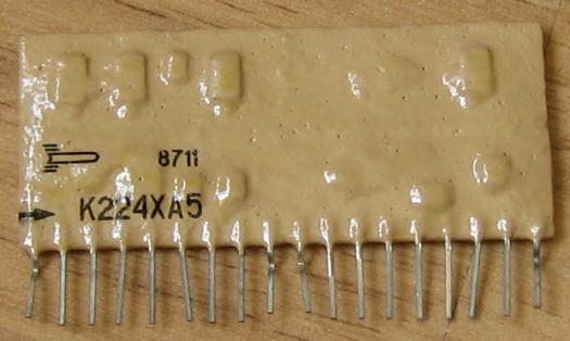 К224ха3 схема включения
