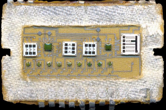 Схема электроника ц 401