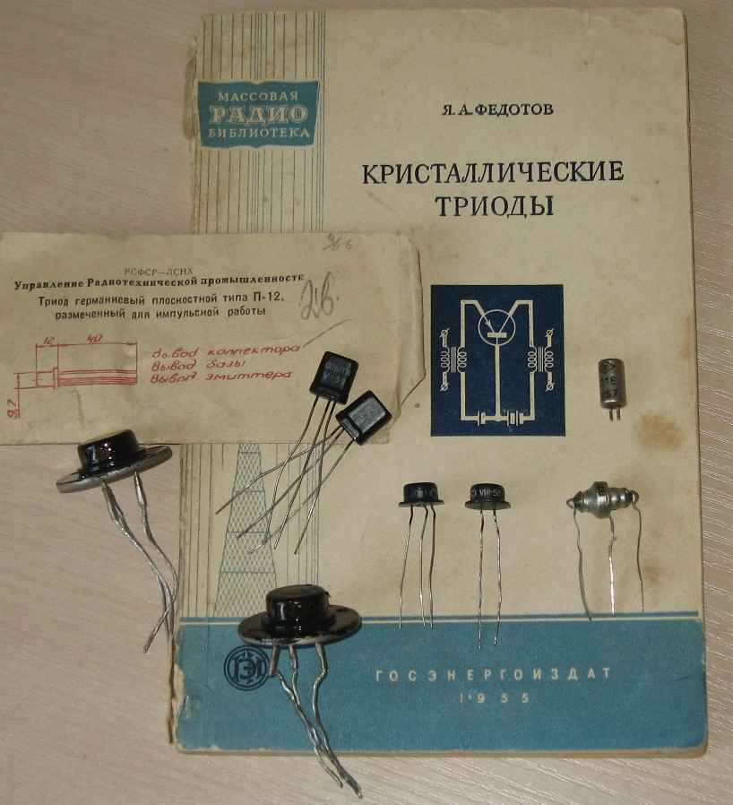 60 лет отечественному транзистору 60 лет отечественному транзистору Чуть более года назад вся прогрессивная...